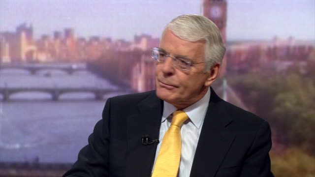 Former Prime Minister John Major criticises the Brexit campaign and calls it squalid