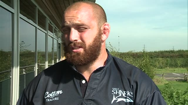 Former Quin Aston Croall on returning to the Stoop for the top of the table clash between Sale Sharks and Harlequins at Carrington Training Ground on...