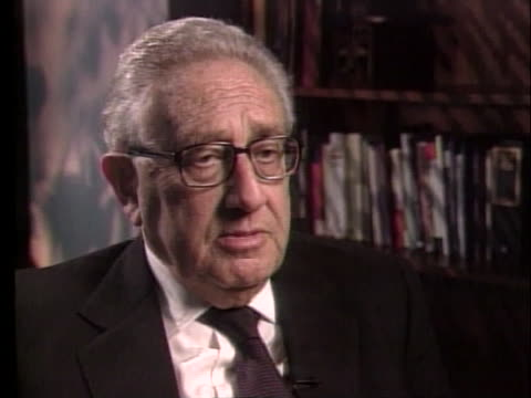 former secretary of state henry kissinger states that if the united states doesn't oppose india's nuclear weapons tests, then any other country can... - environment or natural disaster or climate change or earthquake or hurricane or extreme weather or oil spill or volcano or tornado or flooding stock videos & royalty-free footage