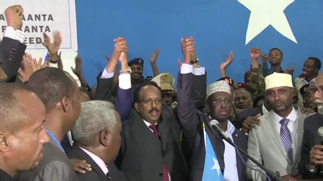 Former Somali prime minister Mohamed Abdullahi Farmajo is elected president after incumbent Hassan Sheikh Mohamud admits defeat in a second round of...