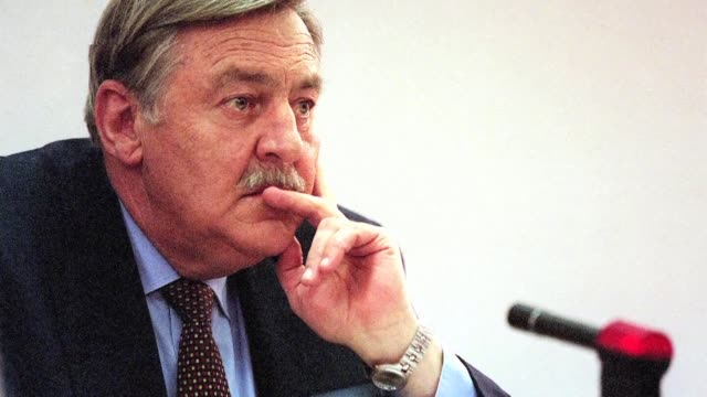 former south african foreign minister roelof pik botha whose long career in government straddled both the apartheid era and the presidency of nelson... - former stock videos & royalty-free footage