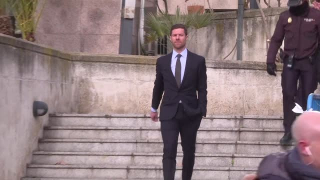 Former Spanish international Xabi Alonso appears in court for committing tax fraud on the same say as Cristiano Ronaldo