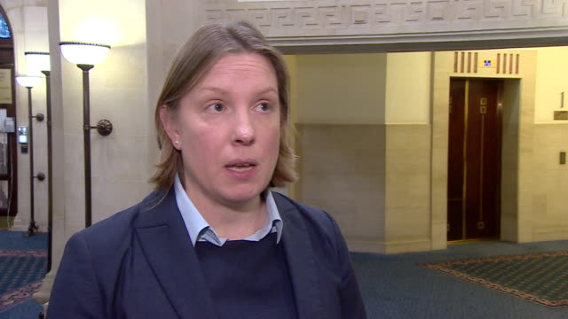"""former sports minister tracey crouch saying she is """"deeply uncomfortable"""" about the fa cup rights deal with bet365 - live streaming stock videos & royalty-free footage"""
