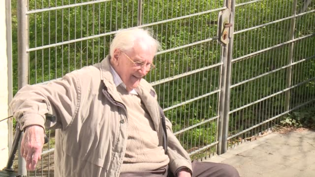 former ss officer oskar groening has asked for forgiveness over his role in mass murder at the nazi death camp at his trial in germany - forgiveness stock videos and b-roll footage