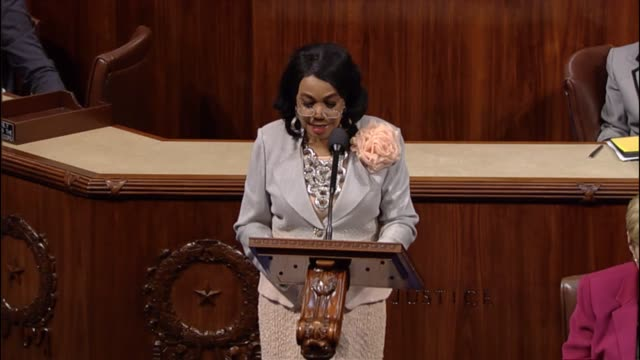 former teacher and principal frederica wilson of florida discusses education program on its 50th anniversary. - head teacher stock videos & royalty-free footage