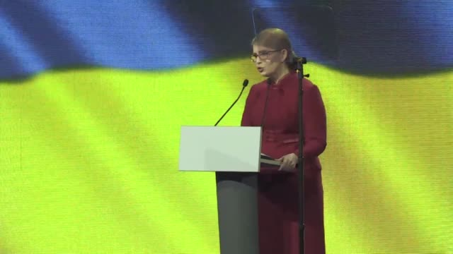 Former Ukrainian prime minister Yulia Tymoshenko officially launches her bid for the presidency with polls showing her as the frontrunner for the...