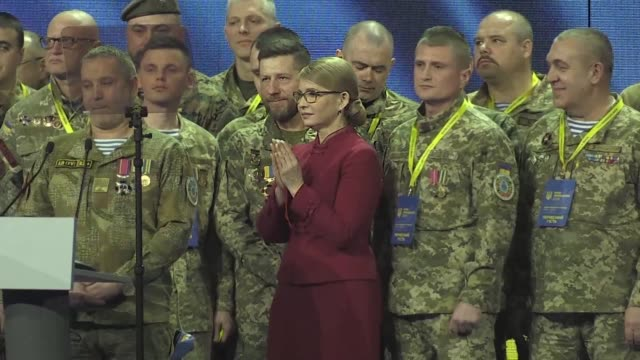 Former Ukrainian prime minister Yulia Tymoshenko officially launches her bid for the presidency with polls showing her as the frontrunner for the post