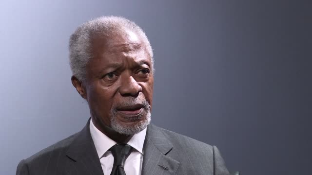 Former UN chief Kofi Annan warned the world was currently a mess and expressed concern about the state of global leadership urging leaders to work...