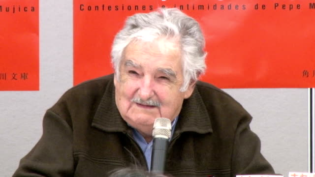 Former Uruguayan president Jose Mujica who is currently on Japan tour called ongoing waves of terror attacks around the glove serious phenomenon...
