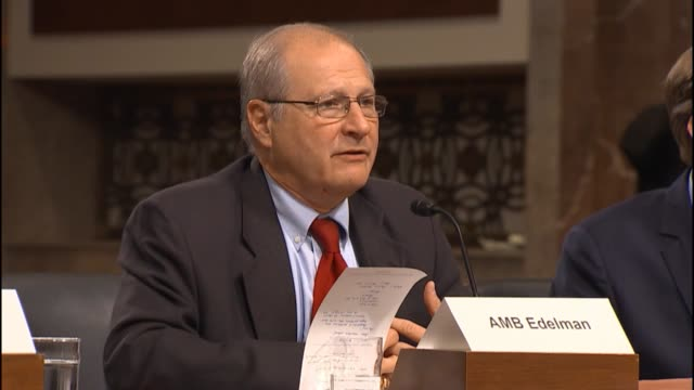 former us defense official eric s edelman says is no reason why the iaea should not be able to explain its activities inside iran - verification stock videos & royalty-free footage