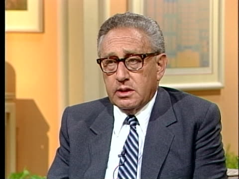 former u.s. secretary of state henry kissinger comments on the tiananmen square massacre, saying he doesn't want the u.s. to get carried away by the... - tiananmen square massacre stock videos & royalty-free footage