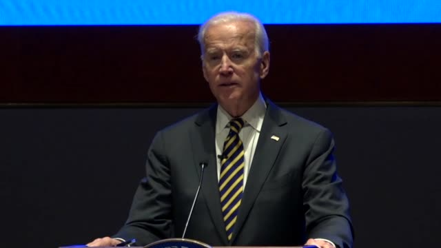 Former Vice President Joe Biden tells House Democrats at an annual issues conference that been a good boy and kept quiet but he could not after...