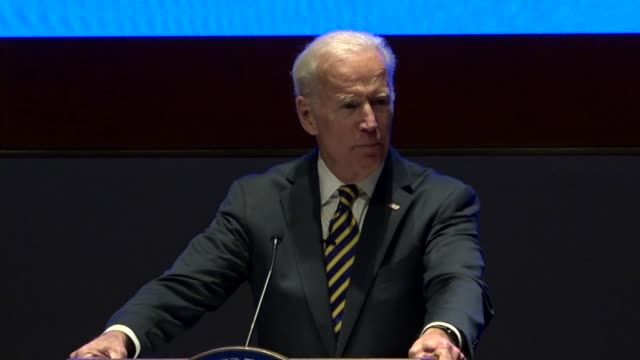 Former Vice President Joe Biden tells House Democrats at an annual issues conference that there was then a Republican party with a major role doing...