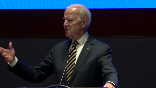 Former Vice President Joe Biden tells House Democrats at an annual issues conference that the the American people are better than a nation that gives...