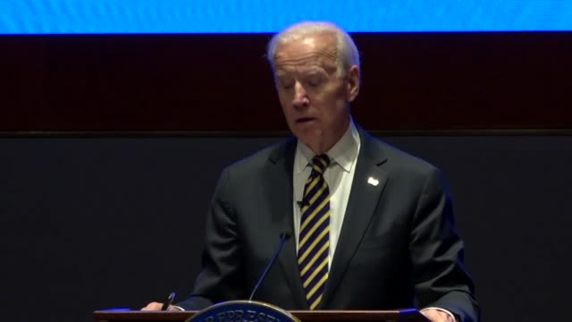 Former Vice President Joe Biden tells House Democrats at an annual issues conference that the American people want his dads expression expecting the...