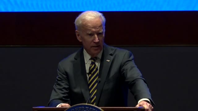 Former Vice President Joe Biden tells House Democrats at an annual issues conference that he was more optimistic about chances to own the 20th...
