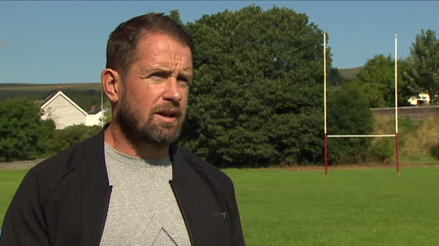 former wales rugby union player shane williams saying he would not have changed the way he played even if he'd known about the risk of long-term... - love emotion stock videos & royalty-free footage