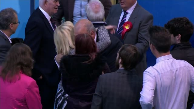 Former Welsh government minister Carl Sargeant found dead at his home LIB Various of Carl Sargeant AM greeting colleagues at Welsh Assembly Elections...