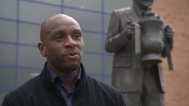 former wigan athletic captain emmerson boyce saying the players have to focus on winning games after the club went into administration - determination stock videos & royalty-free footage
