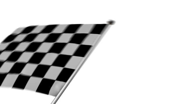 formula 1 finish checkered flag - finishing stock videos and b-roll footage
