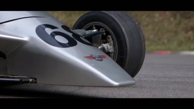 formula 3 car - front - matte stock videos & royalty-free footage