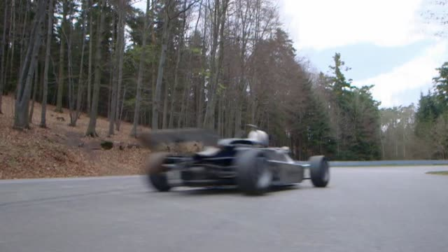 formula 3 car on race circuit - formula one racing stock videos & royalty-free footage