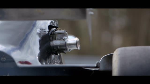 formula 3 car - matte image technique stock videos & royalty-free footage