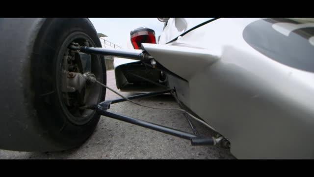 formula car wheels - matte image technique stock videos & royalty-free footage