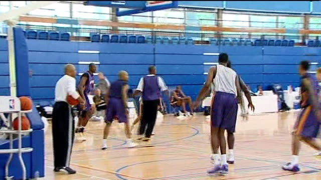 formula one battle for ownership rights 2102010 london crystal palace national sports centre int various of kobe bryant training with other members... - kobe bryant stock videos & royalty-free footage