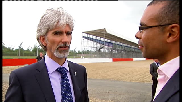 Formula One battle for ownership rights Northamptonshire Silverstone Damon Hill interview SOT