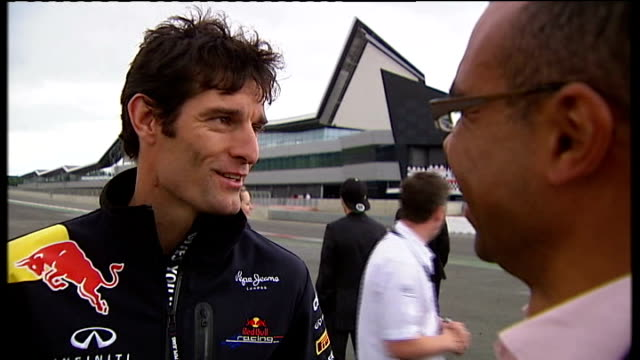 Formula One battle for ownership rights Northamptonshire Silverstone Mark Webber interview SOT