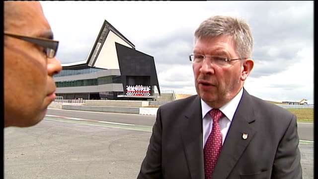 Formula One battle for ownership rights Northamptonshire Silverstone Ross Brawn interview SOT