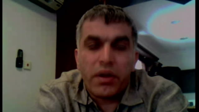formula one bernie ecclestone says bahrain grand prix will go ahead int nabeel rajab interview via skype sot england london ext max mosley setup... - bernie ecclestone stock videos & royalty-free footage