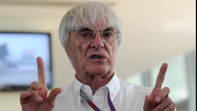 formula one boss bernie ecclestone was on wednesday charged with bribery by german prosecutors in relation to a $44 million 33.6 million euro £29... - bernie ecclestone stock videos & royalty-free footage