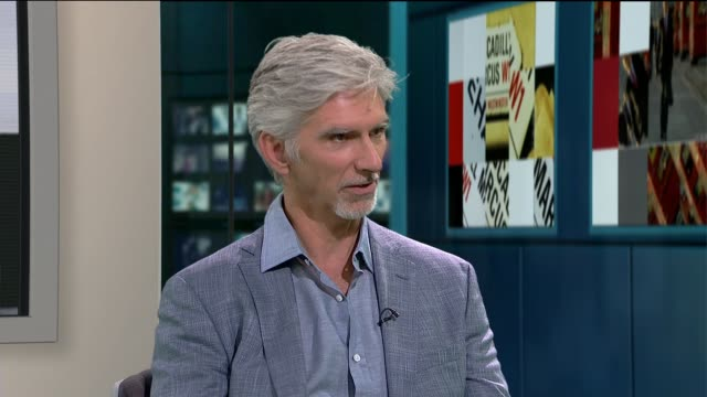 Formula One Damon Hill interview on his autobiography ENGLAND London GIR INT Damon Hill LIVE STUDIO interview SOT