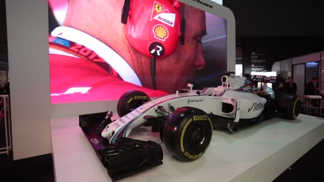 vídeos y material grabado en eventos de stock de formula one f1 ferrari renault cars during the mobile world congress the world's biggest mobile fair on february 28 2018 in barcelona the mobile... - ferrari