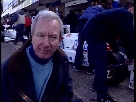 Formula One Grand Prix Car changes ITN Location Unknown Int Ron Dennis intvw We sat down before race and worked out all scenarios/ came away with egg...