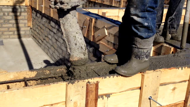 formwork concrete - rod stock videos and b-roll footage