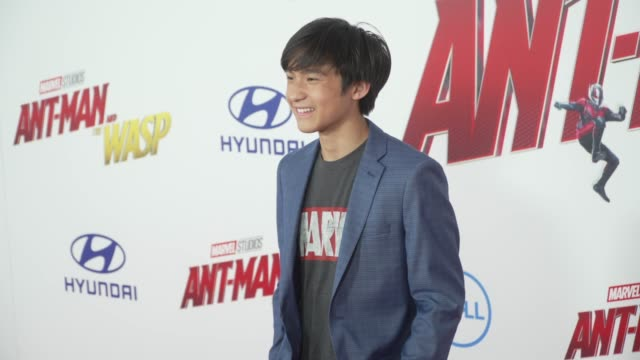 Forrest Wheeler at the AntMan and the Wasp World Premiere at the El Capitan Theatre on June 25 2018 in Hollywood California