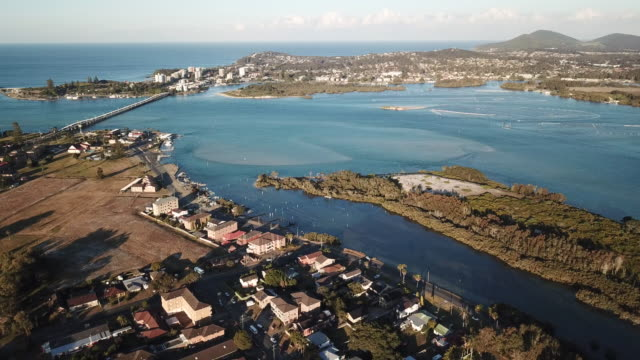 forster and tuncurry - town stock videos & royalty-free footage