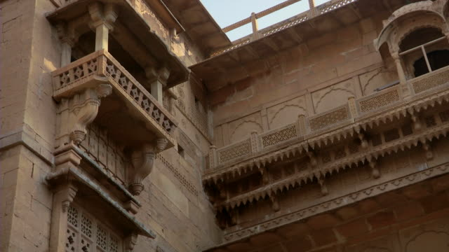 Fort Architecture in Rajasthan, India
