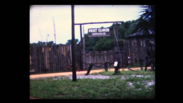 1981 fort clinch state park - florida us state stock videos & royalty-free footage