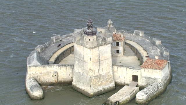 Fort Louvois  - Aerial View - Poitou-Charentes, France