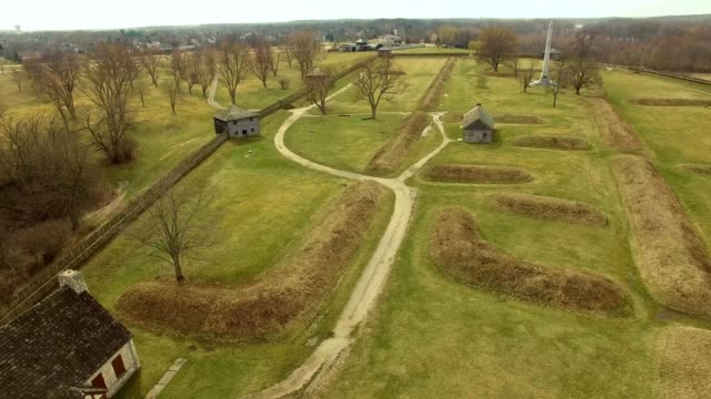 fort meigs in perrysburg ohio - fortress stock videos & royalty-free footage