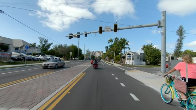 fort myers beach xxviii synced series front view driving process plate - fort myers beach stock videos & royalty-free footage
