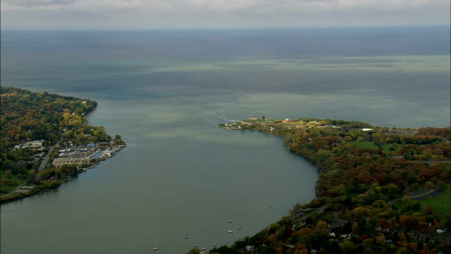 Fort Niagara  - Aerial View - New York,  Niagara County,  United States