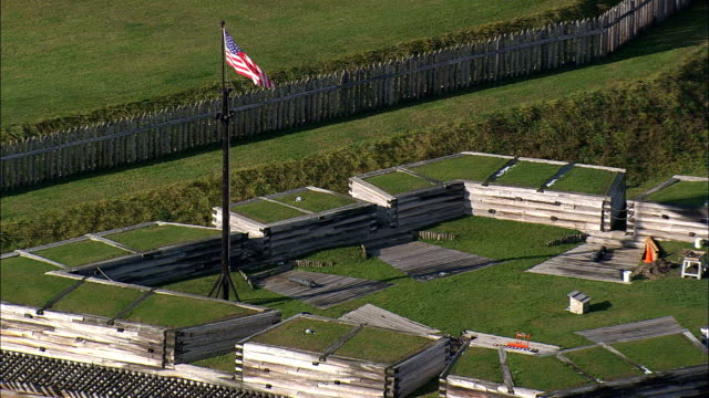 Fort Stanwix  - Aerial View - New York,  Oneida County,  United States