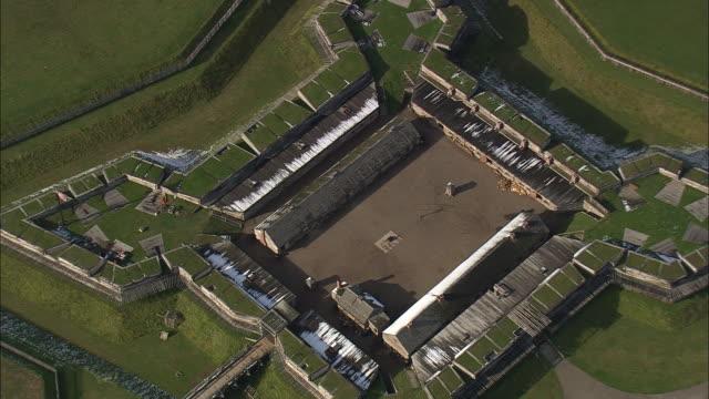 fort stanwix - アルスター郡点の映像素材/bロール