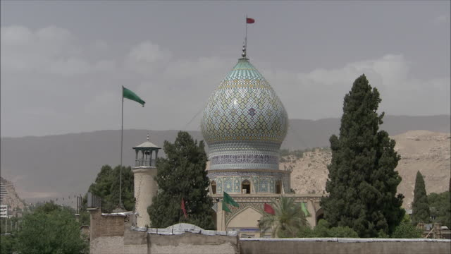 MS ZI Fort with dome and lookout tower, Shiraz, Iran