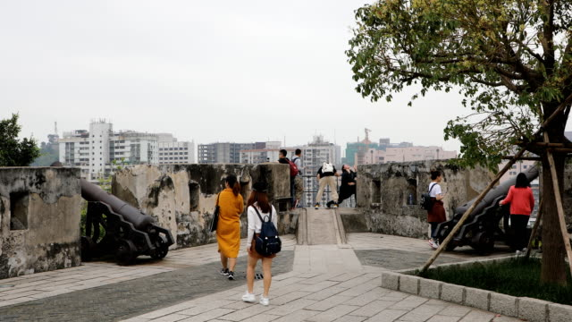 fortaleza do monte,macao,china - macao stock videos & royalty-free footage